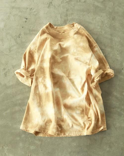 TODAYFUL トゥディフル Tie-dye T-Shirts マスタード 12010632