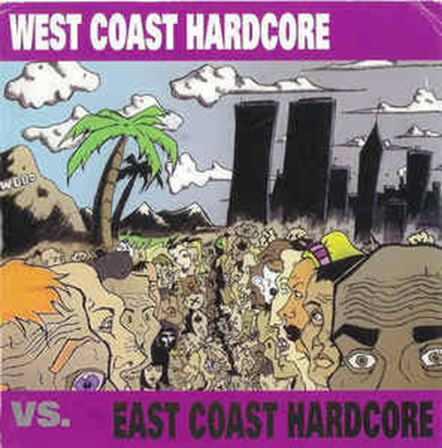 【USED】V.A / WEST COAST HARDCORE vs. EAST COAST HARDCORE