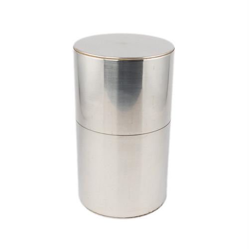開化堂 茶筒 長型200g ブリキ