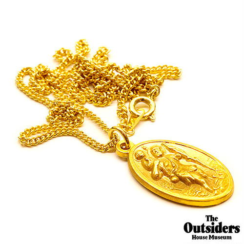 The Outsiders Dallas Winston Pendant (24kt Gold Coating)