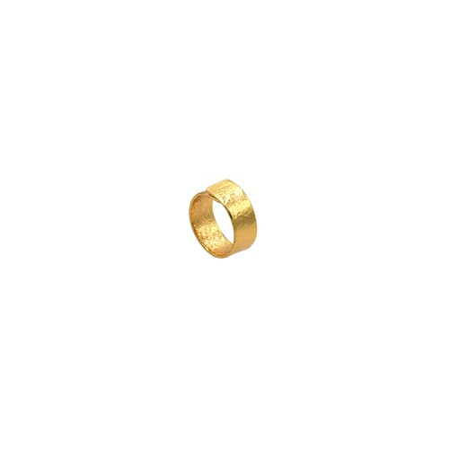 《リング》TIN BREATH Ring 10×80 mm Gold plate