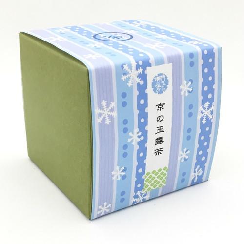 京都の冬|箱茶|鴨川の雪