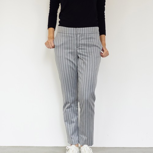 Stripe Pants / Grey