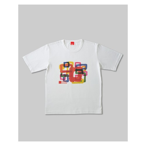 Rough Square T-Shirt White HOMME