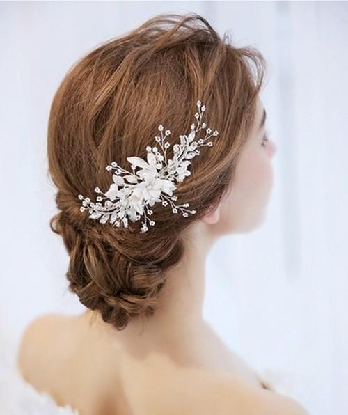 wedding headdress(kirakira flower)