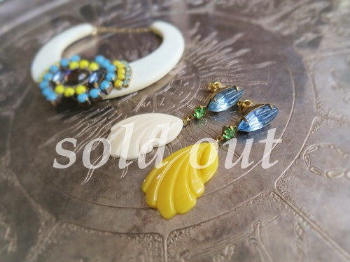 vintage pierced earrings <PE-SYL>