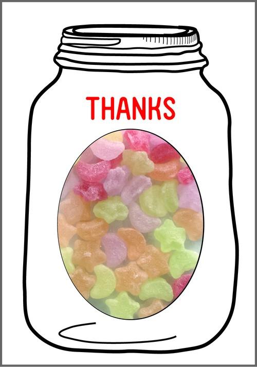 GREETING SWEETSスターキャンディー 選べるメッセージ