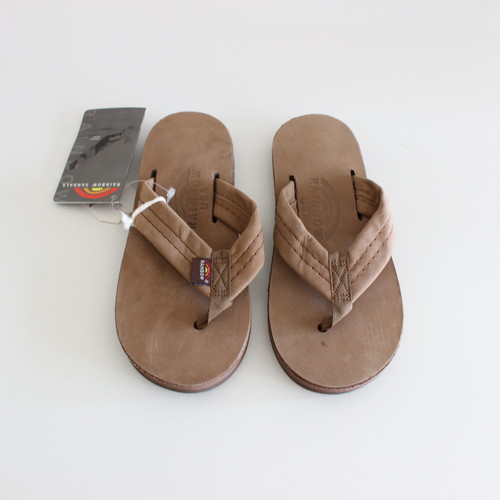 RAINBOW SANDALS KIDS Made in U.S.A. Dark Brown