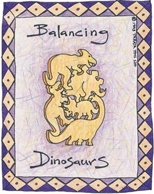 バランシングアニマル ダイナソー(恐竜)