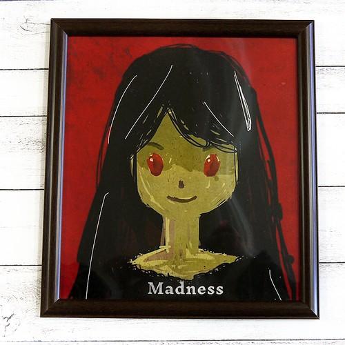 【M.O】Madness/額入りイラスト