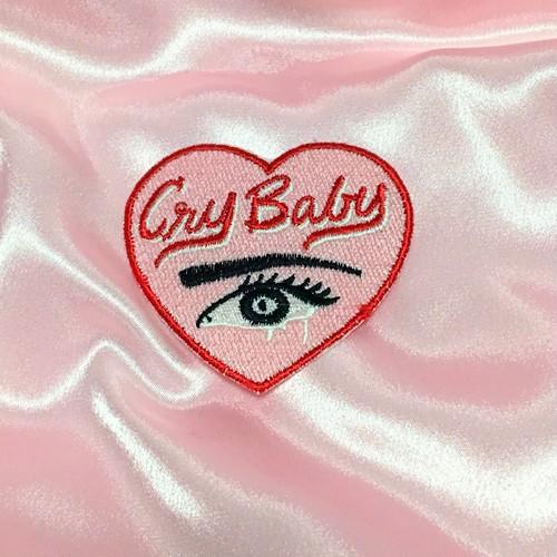 cry baby ワッペン
