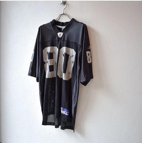 メッシュ ナンバリング football Tシャツ