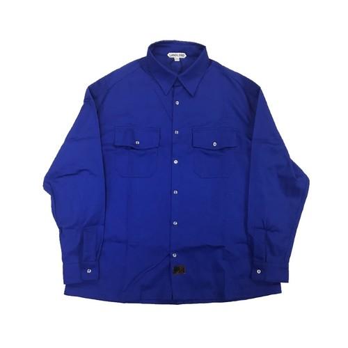 LANDLORD FLAP POCKET SHIRT BLUE