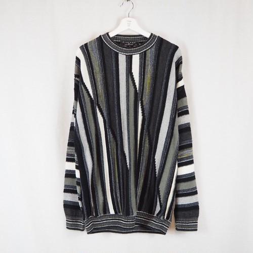 Acrylic Nylon Knit Pullover
