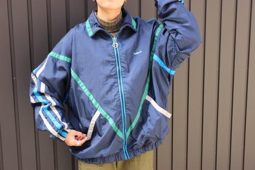 80's nylon zip Jacket