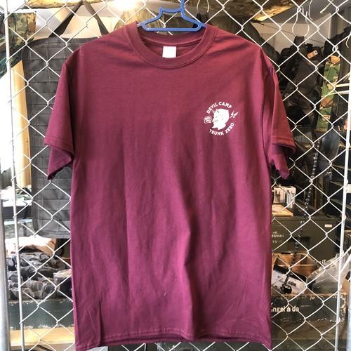 GRIND LODGE  Tシャツ / DEVIL CAMP 赤