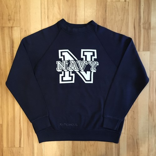 NAVY Ragulan Sweat Long Sleeve