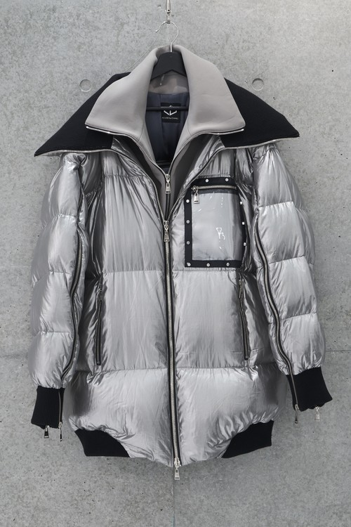 Frame Down Jacket [Silver]