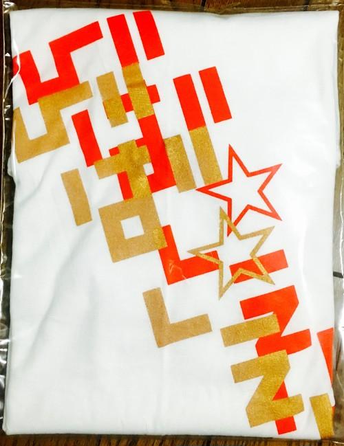 NEW 寿カラー/赤&金 バックプリント Tシャツ