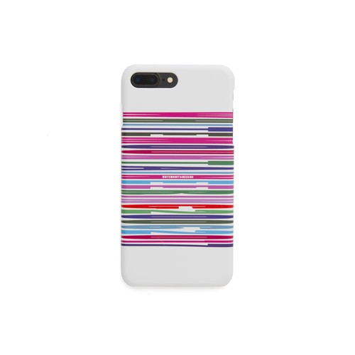 iPhone7Plus case【BARCODE】- WHITE