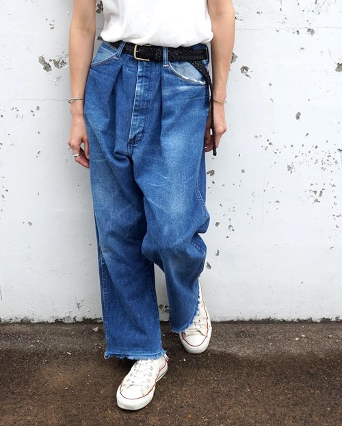 """WIDE TUCK JEANS"" 80's Wrangler size:W29"