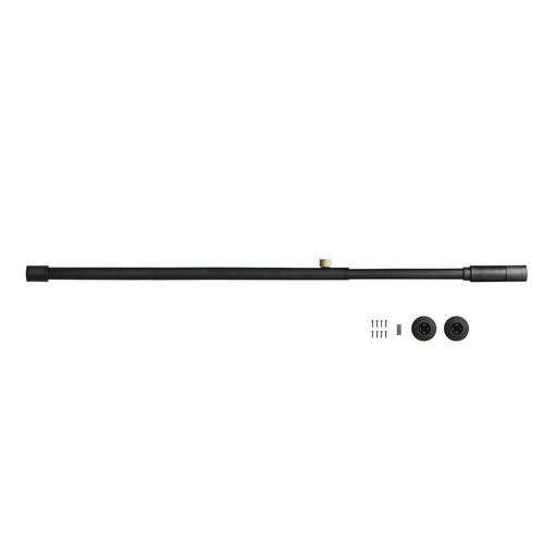 001 Tension Rod A (Horizontal/Vertical) ブラック 取付寸法75~115cm 縦横兼用 D-A-BK 840013