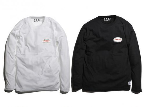 ACTIVE LOGO LONG SLEEVE TEE / PANCAKE