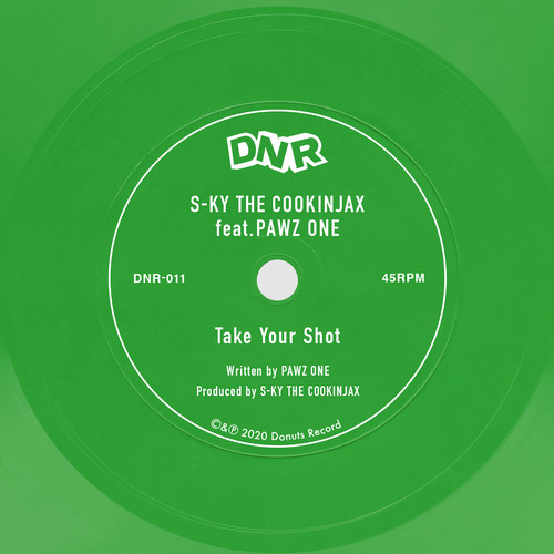 "S-KY THE COOKINJAX feat. PAWZ ONE - Take Your Shot (7"" Flexidisc)"