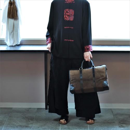 RETRO LACE DESIGN PANTS MADE IN JAPAN/レトロ古着レースデザインパンツ