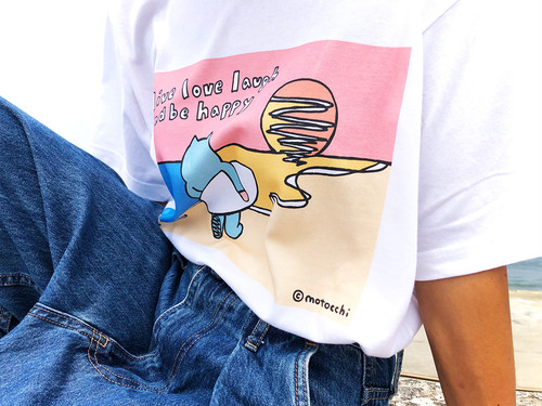 「Live Love Laugh and be Happy」T-Shirt