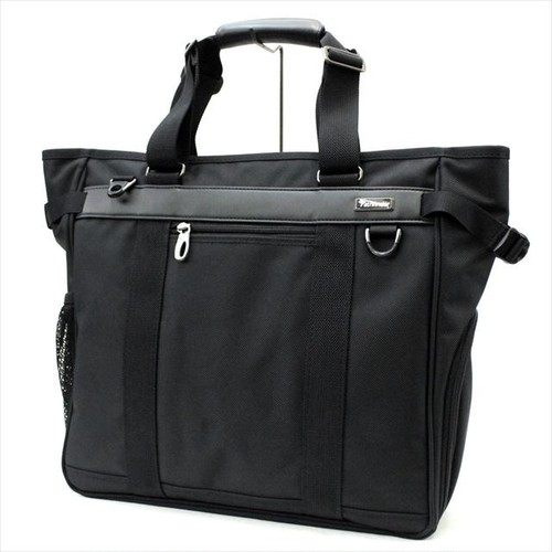 Path finder 「Revolution XT」 Square Business Tote <BLACK>