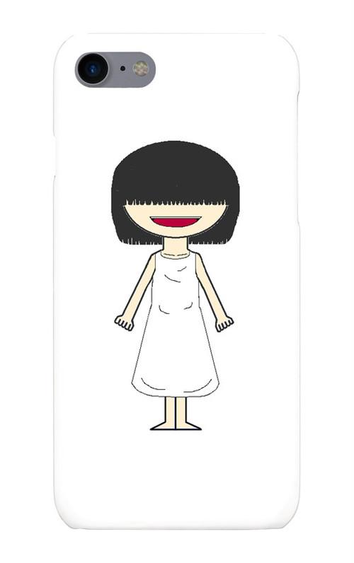 iPhone7/8用(幽霊(少女)スマホケース)