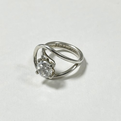 Vintage Designd 925 Silver Bijoux Ring Made In Mexico