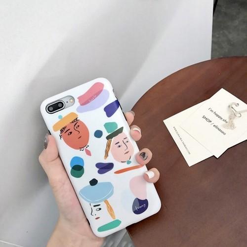 iPhoneケース アニメ かわいい 落書き アート