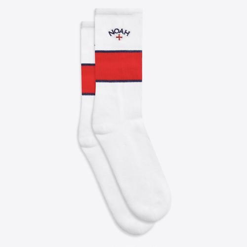 Striped Tube Sock(White)