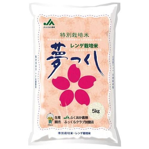 [欠品/新米入荷待ち]福岡県 夢つくし 特別栽培米 5kg 令和元年産 白米/玄米(離島は配送不可)