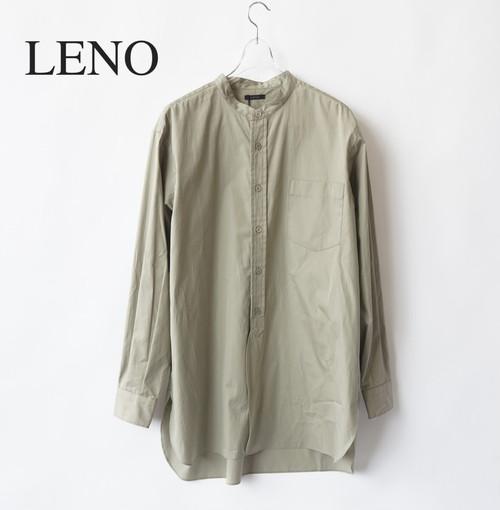 LENO/リノ・BAND COLLAR SHIRT