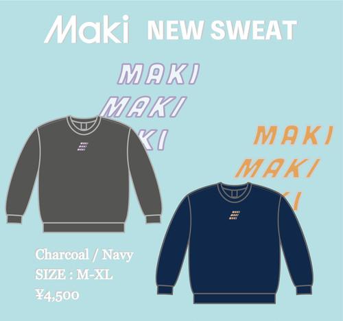 【Maki】スウェット