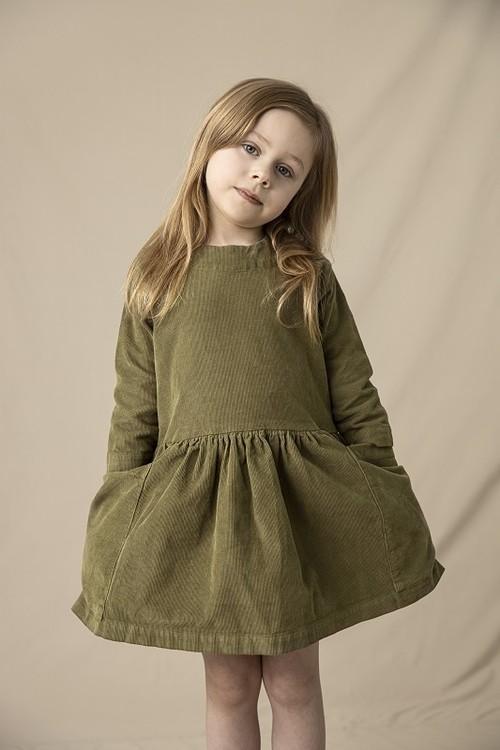 AS WE GROW Pocket Dress / Green