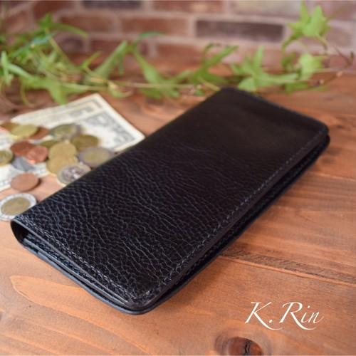 【オーダーメイド制作例】2つ折り長財布 ダブル スリットカード入れタイプ