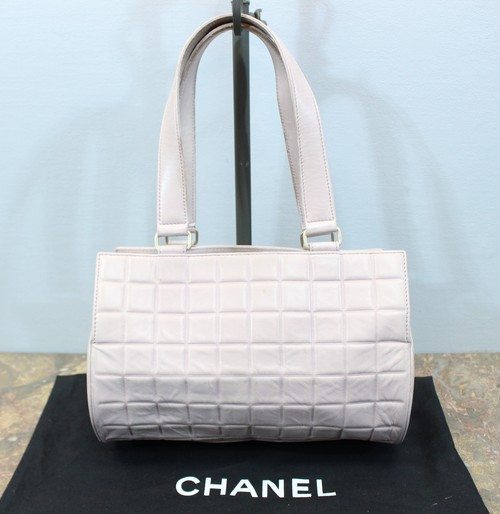 .CHANEL COCO MARC LEATHER HAND BAG MADE IN ITALY/シャネルココマークレザーハンドバッグ 2000000031996