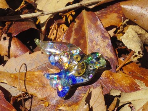 【オルゴナイト】機械仕掛けの太陽を宿した青い鳥