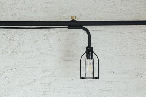 【販売・出荷一時停止中】LampB SET ブラック 取付寸法115~190cm