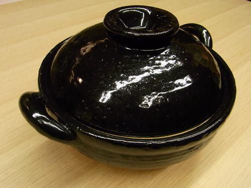 伊賀焼 長谷製陶 蒸し土鍋 中 (2~4人用)