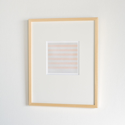 Agnes Martin / Happy Holiday, 1999 Tate Modern 額装済