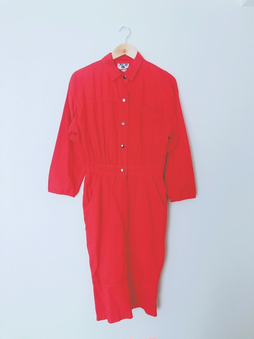 mother dress red