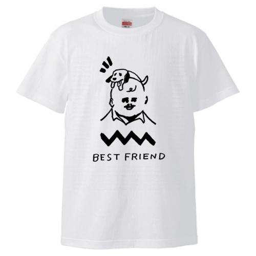 「BEST FRIEND」Tシャツ