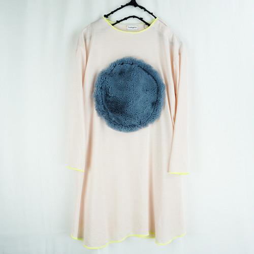 BIG BOA CIRCLE DM L/S TEE DRESS / WOMEN