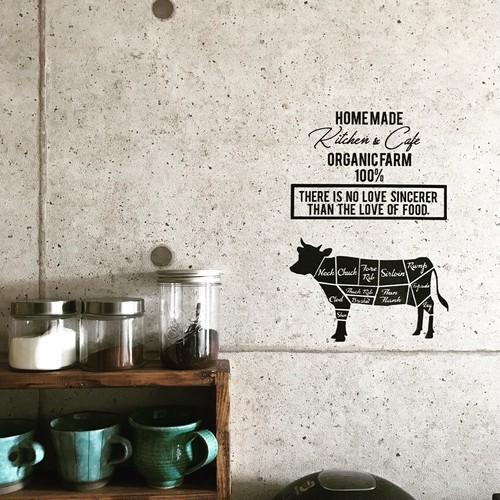 ステッカー<meat parts>