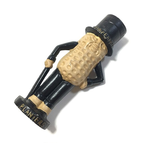"Vintage Planters ""Mr. Peanut"" Iron Cast Bank"